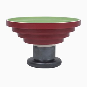 Vintage Model 540 Fruit Bowl Stand by Ettore Sottsass for Bitossi, 1985