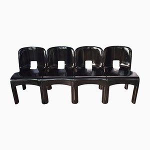 4867 Stühle von Joe Colombo für Kartell, 1960er, 4er Set