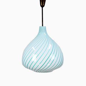 Mid-Century Pendant Light by Massimo Vignelli for Venini, 1950s