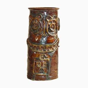 Anthropomorphe Vase im Kobra-Stil, 1950er