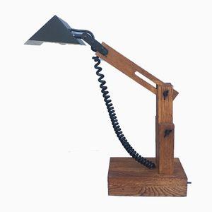 Lampe de Bureau Vintage par Daniel Pigeon, France, 1970s