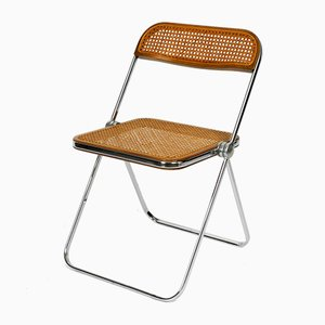 Vintage Model Plia Folding Chair by Giancarlo Piretti for Castelli, 1960s