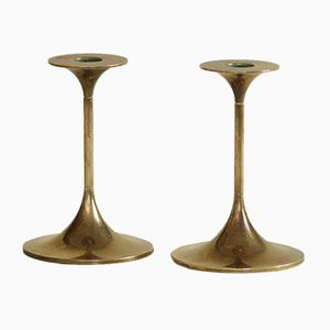 Vintage Hi-Fi Candle Holders by Max Brüel for Torben Ørskov, 1950s, Set of 2