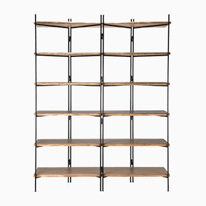 Metal-Wood Wall Unit by Francomario, 2018