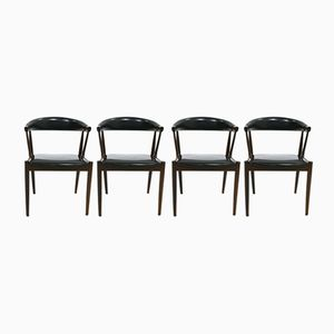 Dining Chairs by Johannes Andersen for Uldum Mobelfabrik, 1960s, Set of 4