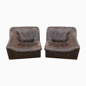 Modulares Vintage Sofa aus Büffelleder von de Sede