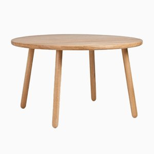 Dining Table One Round in Natural Oak from Another Country
