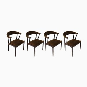 Vintage BA 113 Rosewood Dining Chairs by Johannes Andersen for Brødere Andersen Møbelfabrik A/S, Set of 4
