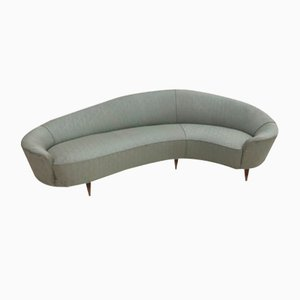 Vintage Curved Sofa by Ico & Luisa Parisi