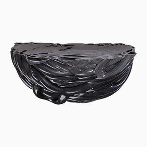 Mensola nera della serie Plastic Mine di Studio Thier & vanDaalen