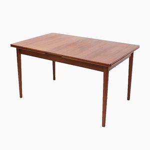 Swedish Teak Extendable Dining Table by Nils Jonsson for Hugo Troeds, 1960s