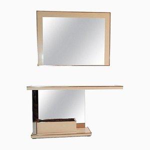 Juego de consola y espejo vintage de Nazaret
