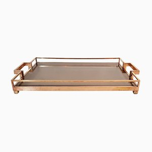 Vintage Brass Tray by Romeo Rega