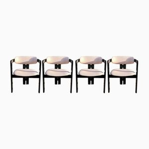 Pigreco Chairs by Afra & Tobia Scarpa for Gavina, 1957, Set of 4