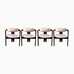 Pigreco Stühle von Afra & Tobia Scarpa für Gavina, 1957, 4er Set