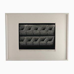 Unbetitelte Serigraphie (Impossible Structures) von Yayoi Kusama, 1997