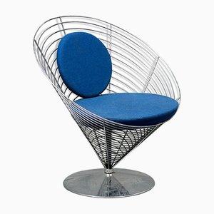 Chaise Wire Cone par Verner Panton pour Fritz Hansen, 1988