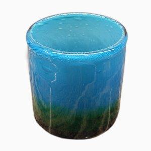 Swedish Blown Glass Vase by John Orwar Lake for Ekenas, 1960s