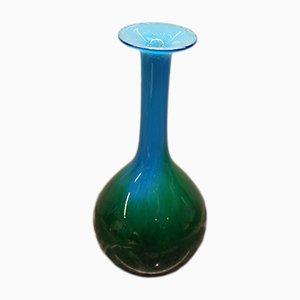 Schwedische Vase aus geblasenem Glas von John Orwar Lake für Ekenas, 1960er
