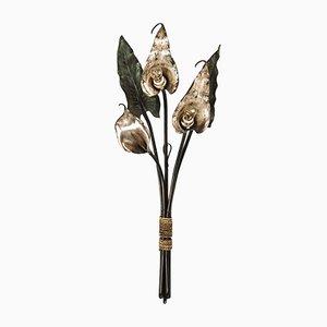 Applique a forma di fiore calla, inizio XIX secolo