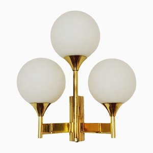 Brass Sputnik Wall Lamp from Kaiser Leuchten, 1960s