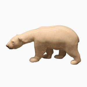 Antique Polar Bear by Carl Johan Bonassen for Royal Copenhagen
