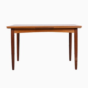Scandinavian Extendable Teak Dining Table, 1960s