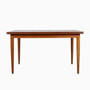 Extendable Teak Dining Table by Arne Hovmand Olsen for Skovmand & Andersen, 1960s