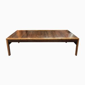 Rosewood Coffee Table by Ole Gjerlov-Knudsen & Torben Lind for France & Søn, 1960s