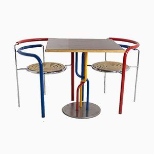Tavolo e sedia Dark Horse vintage di Thygesen & Sørensen per Botium