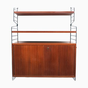 "Mid-Century Regal Shelf System by Kajsa & Nils ""Nisse"" Strinning for String, 1960s"