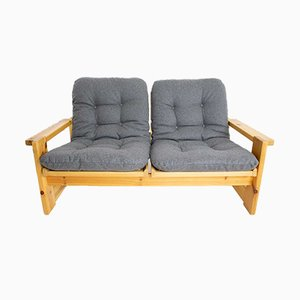 Vintage Two-Seater Sofa by Yngve Ekström for Swedese