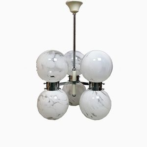 Vintage Chandelier by Carlo Nason for Mazzega, 1960s