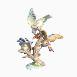 Scultura di uccelli nr. 1007 vintage di Rosenthal