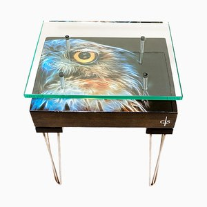 Electric Owl Side Table from Cappa E Spada