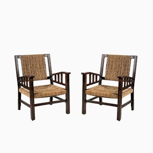 French Armchairs by Francis Jourdain, 1930s