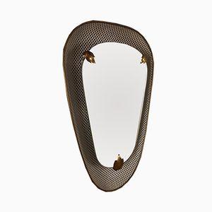 Specchio con luce di Mathieu Matégot per Artimeta, anni '50