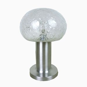 German Bubble Glass Table Lamp from Doria, 1960s