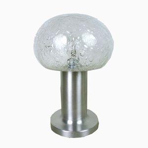 Lampada da tavolo in vetro con bolle di Doria, Germania, anni '60