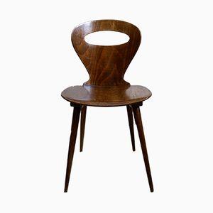 Französische Esszimmerstühle von Baumann, 1950er, 4er Set