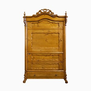 Antique Louis Philippe Wardrobe, 1860s