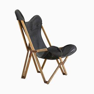 Antiker Tripolina Stuhl