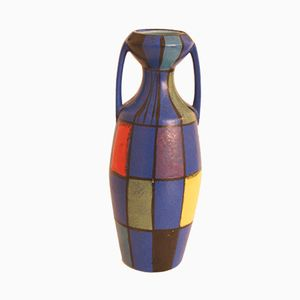 West German Vase by Bodo Mans for Bay Keramik, 1970s