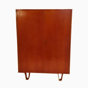 Small Mahogany Armoire by Cees Braakman for Pastoe, 1960s