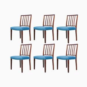 Esszimmerstühle aus Palisander von Robert Heritage für Archie Shine, 1960er, 6er Set