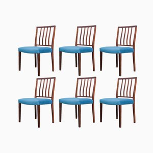 Rosewood Dining Chairs by Robert Heritage for Archie Shine, 1960s, Set of 6