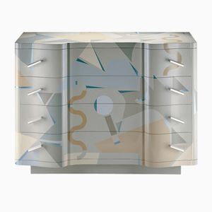 Vintage Chest of Drawers by Alessandro Mendini for Zanotta, 1984