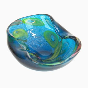 Tutti Frutti Murano Glass Bowl from A.V.E.M., 1960s