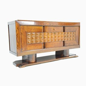 Art Deco Sideboard by Charles Dudouyt, 1930s