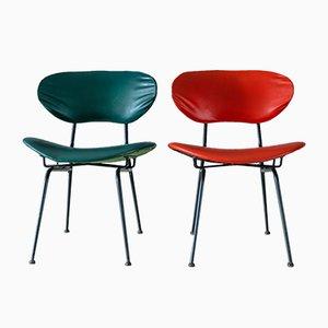 Mid-Century ItalianSide Chairs by Gastone Rinaldi, 1950s, Set of 2